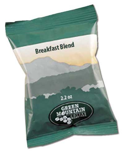 Breakfast Blend 2.2 Oz Ground, Drip Coffee From Green Mountain