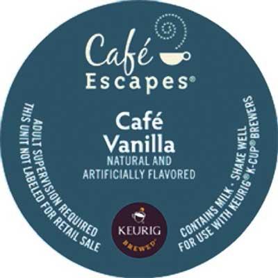 Café Vanilla From Café Escapes
