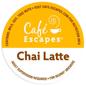 Chai Latte From Café Escapes