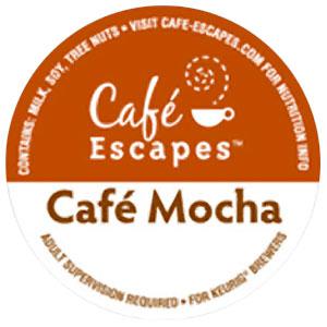 Café Mocha Cocoa From Cafe Escapes