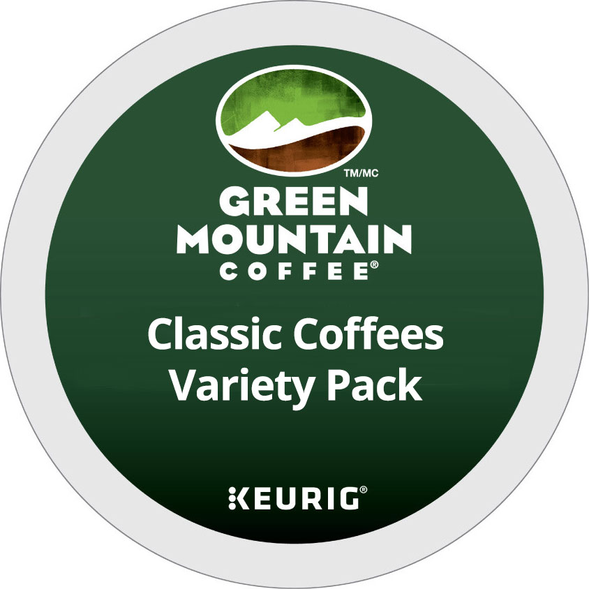 Classic Coffees Variety Pack From Green Mountain