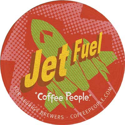 Jet Fuel Blend From Coffee People