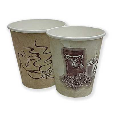 Cups, Paper: 10 Ounce (sleeve Of 50)