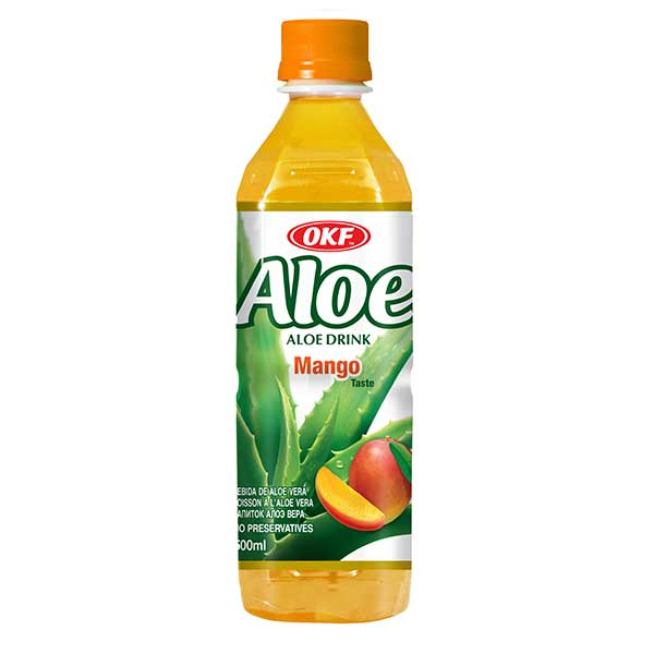 Aloe Mango From OKF 16.9 Oz (500 Ml)