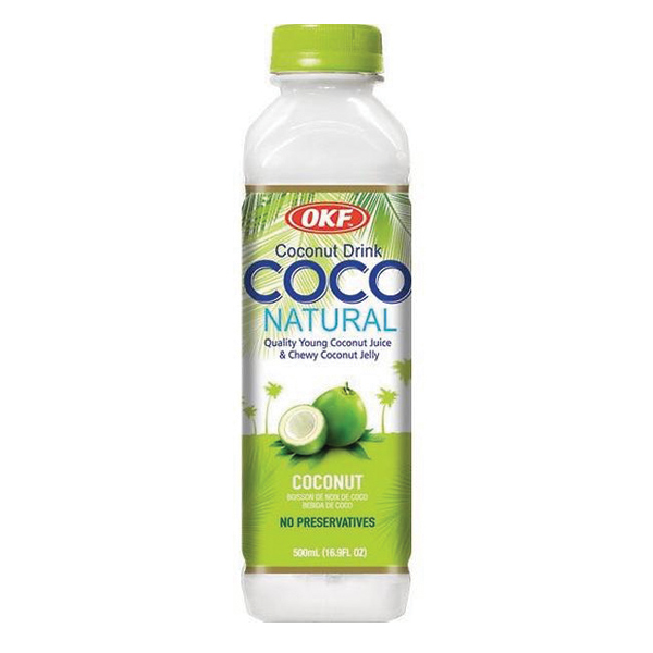 Coco Natural Original From OKF 16.9 Oz (500 Ml)