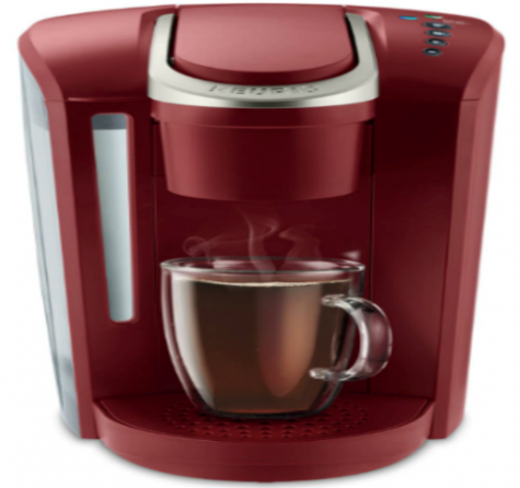 Home K-Cup Brewer (K-Select Vintage Red) From Keurig