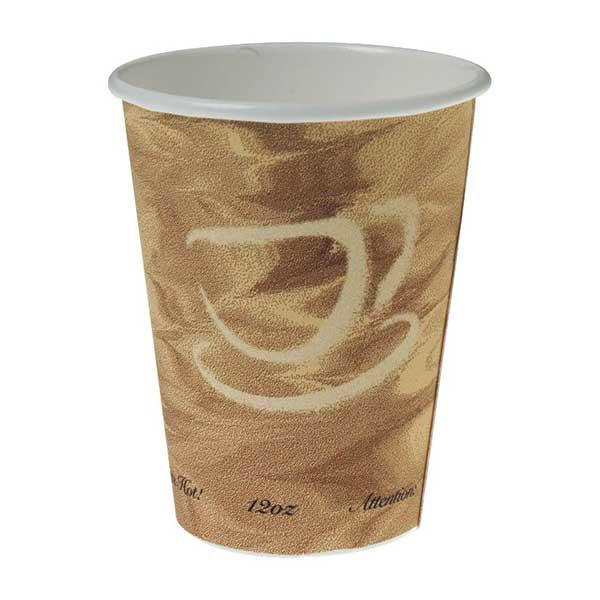Cups, Paper, Hot, Mistique Design: 12 Ounce (case Of 1000)