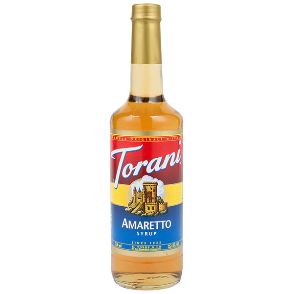 Amaretto Syrup From Torani (25.4 Oz 750 Ml)