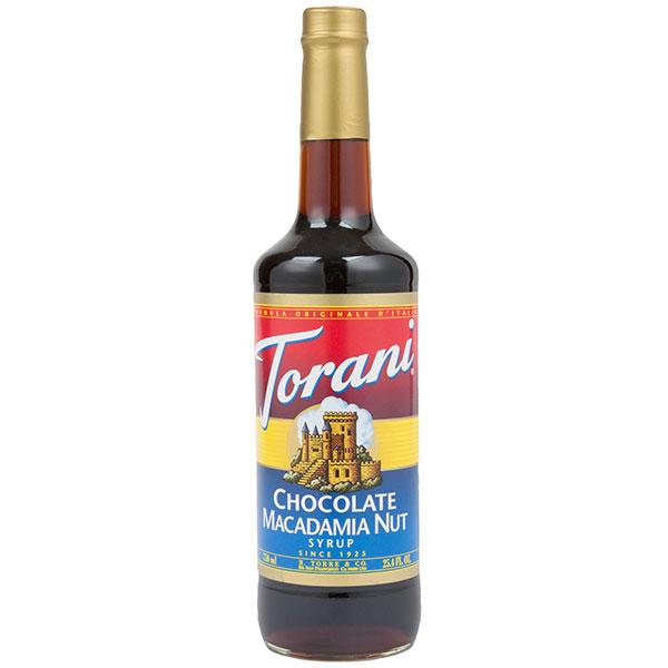 Chocolate Macadamia Nut Syrup From Torani (25.4 Oz 750 Ml)