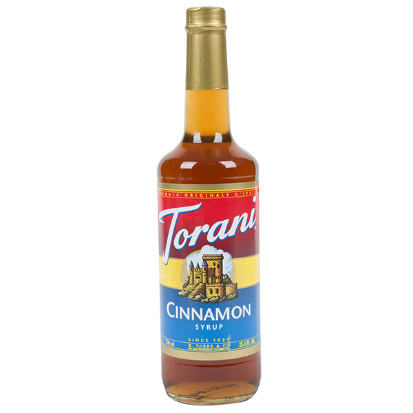 Cinnamon Syrup From Torani (25.4 Oz 750 Ml)