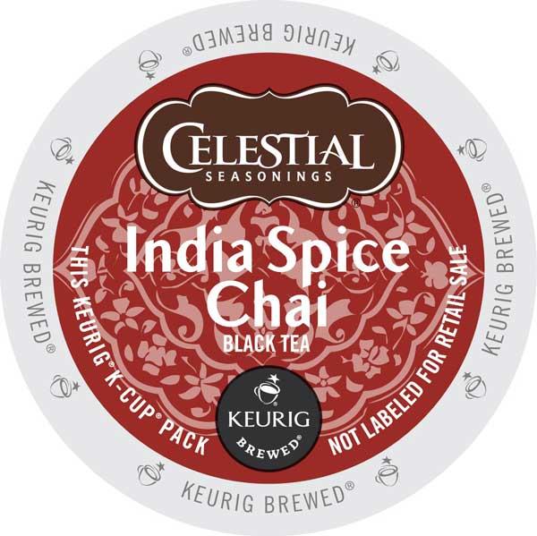 India Spice Chai Tea From Celestial Seasonings