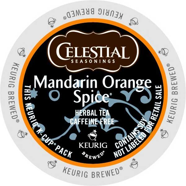 Mandarin Orange Spice Tea From Celestial Seasonings