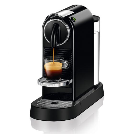 CITIZ OriginalLine Capsule Brewer – Black From Nespresso