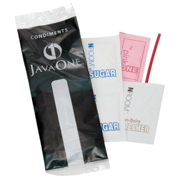 Hospitality Condiment Pack From Java One