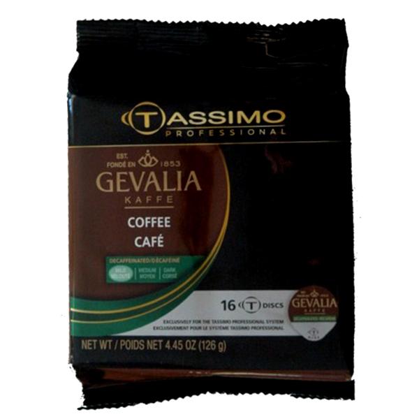 Decaf Coffee Tassimo T-Discs From Gevalia