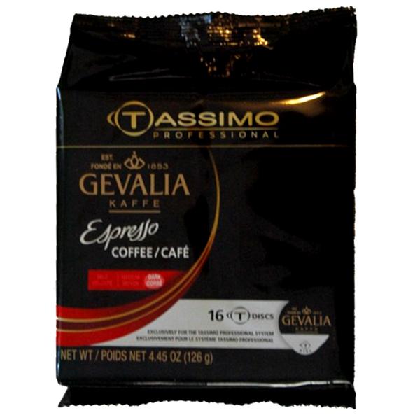 Espresso Tassimo T-Discs From Gevalia