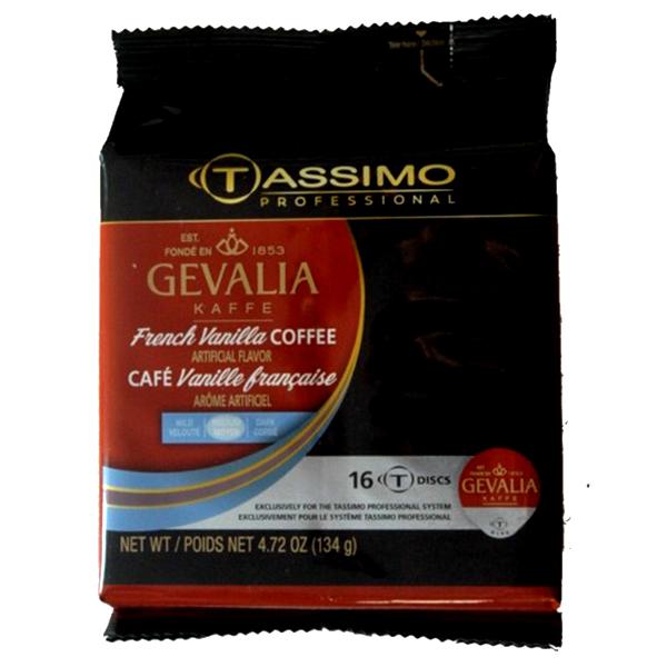 French Vanilla Tassimo T-Discs From Gevalia