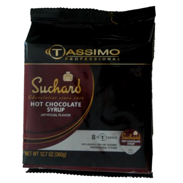 Hot Chocolate Syrup Tassimo T-Discs From Suchard