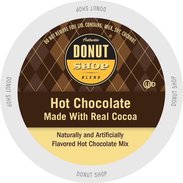 Hot Chocolate From Authentic Donut Shop