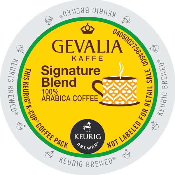 Signature Blend 100% Arabica From Gevalia