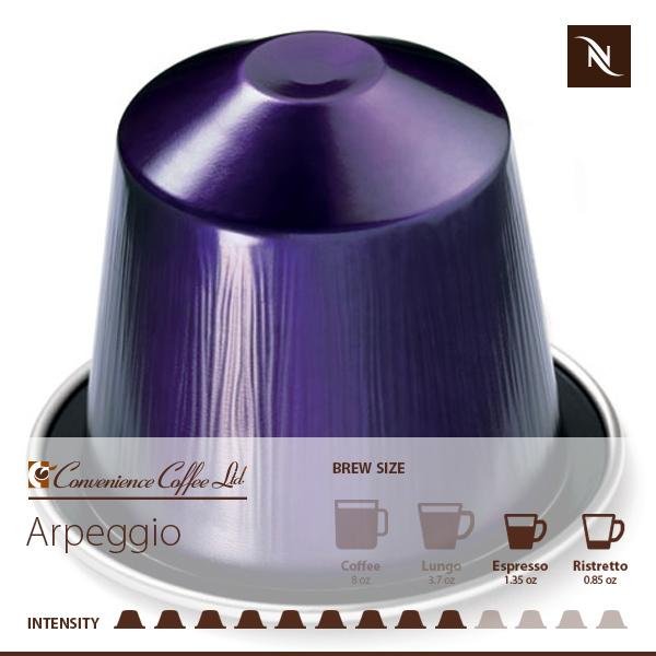 ARPEGGIO Capsules From Nespresso