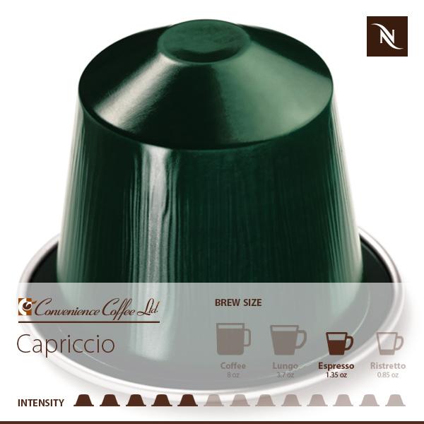 CAPRICCIO Capsules From Nespresso