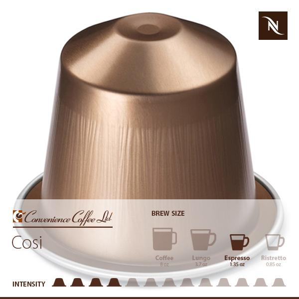 COSI Capsules From Nespresso