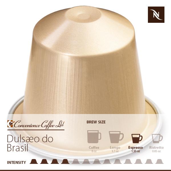 DULSÆO DO BRASIL Capsules From Nespresso