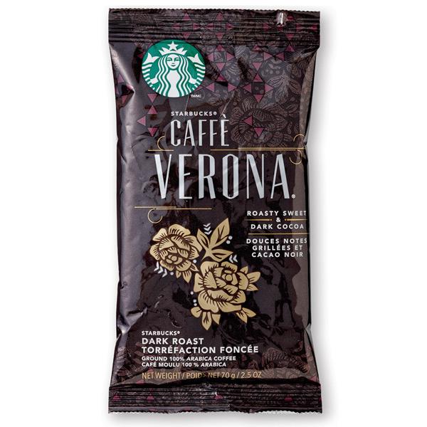 Caffè Verona 2.5 Oz Ground, Drip Coffee From Starbucks