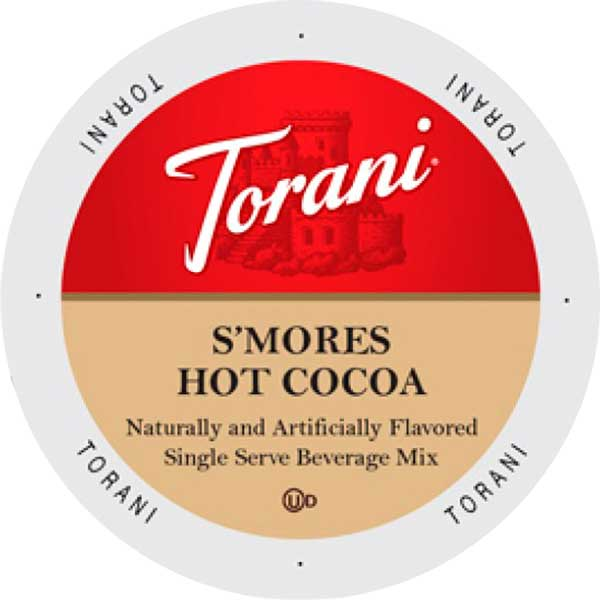 S'mores Hot Cocoa From Torani