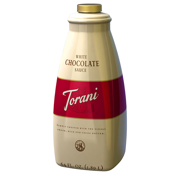 White Chocolate Sauce From Torani (64 Oz)
