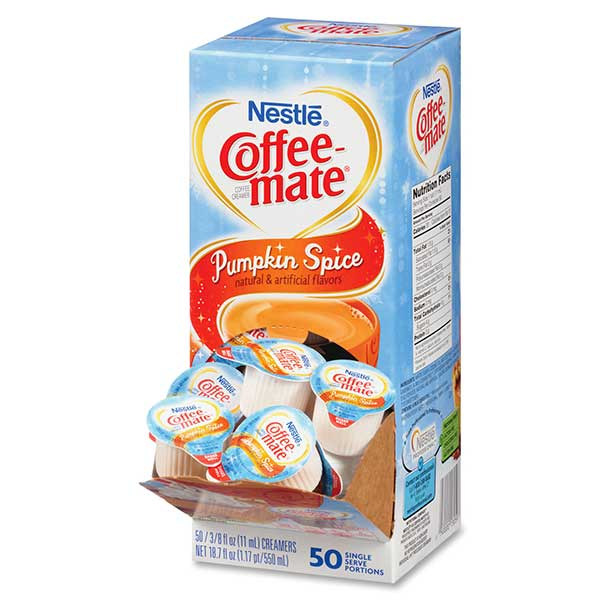 Coffee-mate Pumpkin Spice Singles From Nestlé