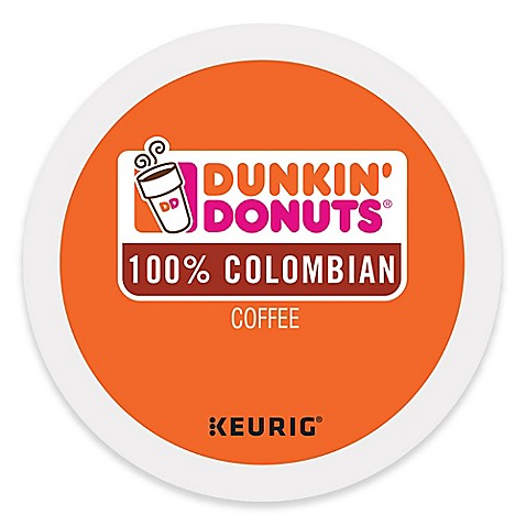 Colombian From Dunkin' Donuts