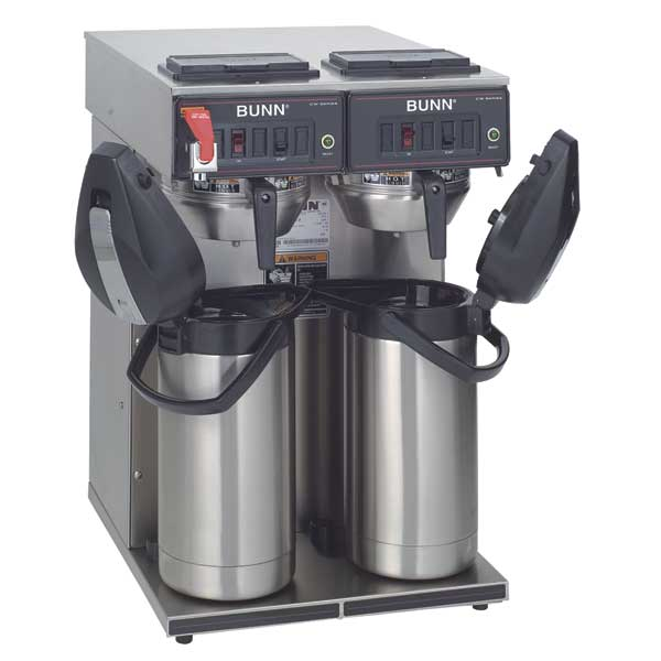 Airpot Coffee Brewer (twin) From BUNN