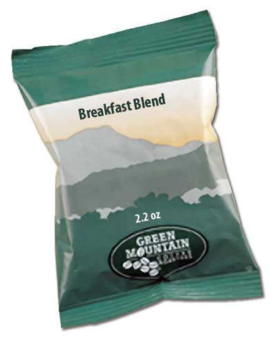 Breakfast Blend 2.2 Oz Ground, Drip Coffee From Green Mountain