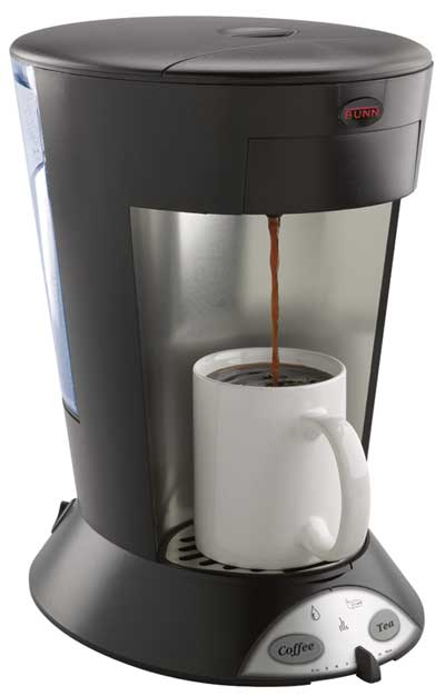 MyCafé MCP Single-Cup Pod Brewer (commercial) From BUNN