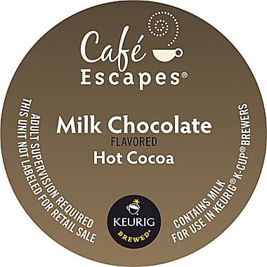 Milk Chocolate Cocoa From Cafe Escapes