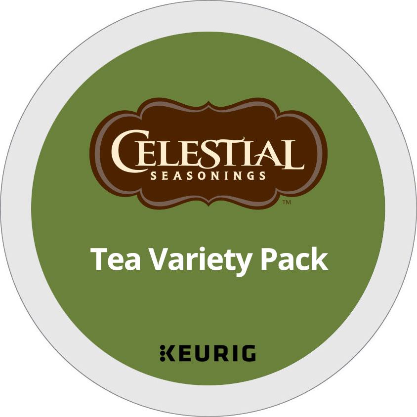 Tea Variety Pack From Celestial Seasonings