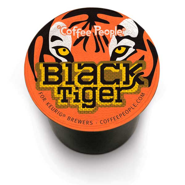 Black Tiger From Coffee People