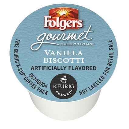 Vanilla Biscotti From Folgers