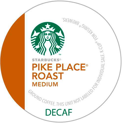 Pike Place Roast Decaf From Starbucks