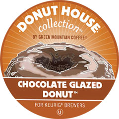 Chocolate Glazed Donut From Donut House™
