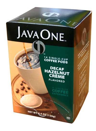 Hazelnut Crème Decaf From Java One