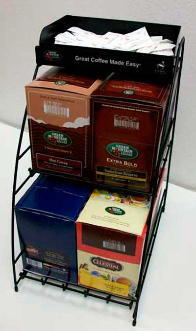 K-Cup 4 Carton Wire Rack From Keurig