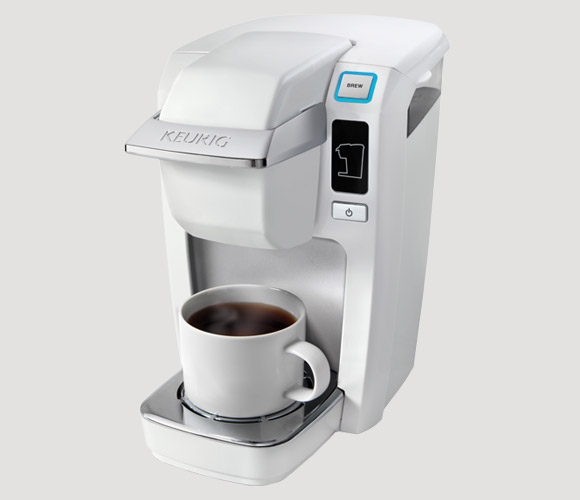 MINI Plus K10 K-Cup Brewer (White) From Keurig