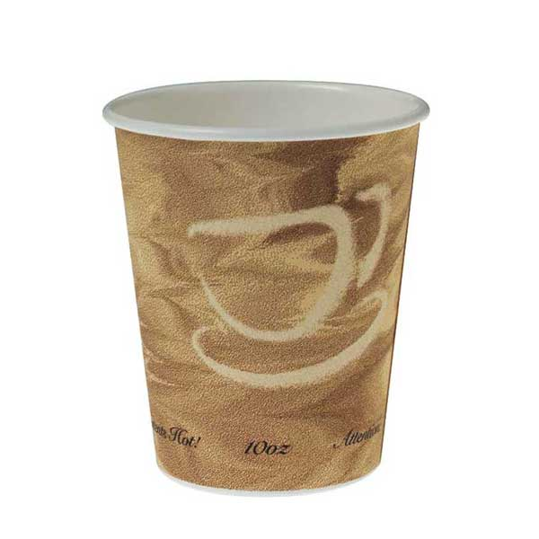 Cups, Paper, Hot, Mistique Design: 10 Ounce (case Of 1000)