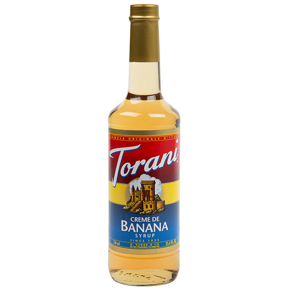 Crème De Banana Syrup From Torani (25.4 Fl Oz 750 Ml)