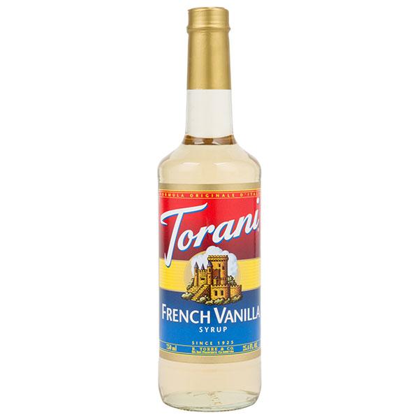 French Vanilla Syrup From Torani (25.4 Oz 750 Ml)
