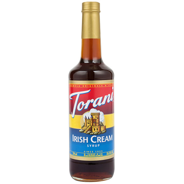 Irish Cream Syrup From Torani (25.4 Oz 750 Ml)