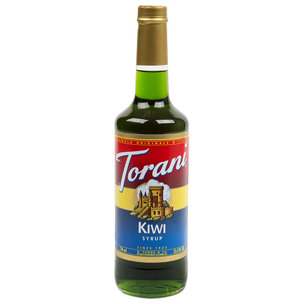 Kiwi Syrup From Torani (25.4 Oz 750 Ml)